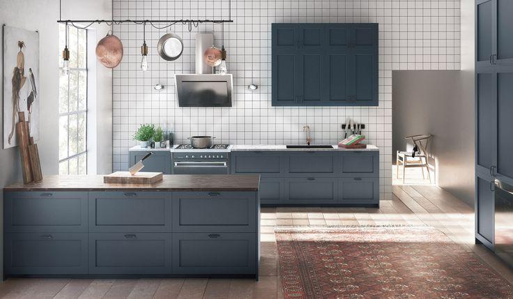 Välj din kökslucka i vår luckmodell P1. Luckan går att måttbeställa i valfri NCS och passar till IKEAs stommar Metod, Faktum och PAX.