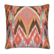 Blanket Multi Cushion #andrewmartin #cushions #brightsandstripes