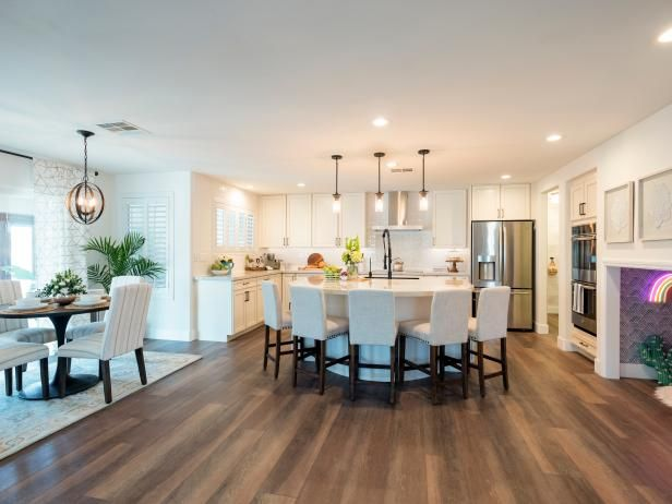 Property Brothers Forever Home Hgtv Dining Room Layout Home Renovation Costs Property Brothers House