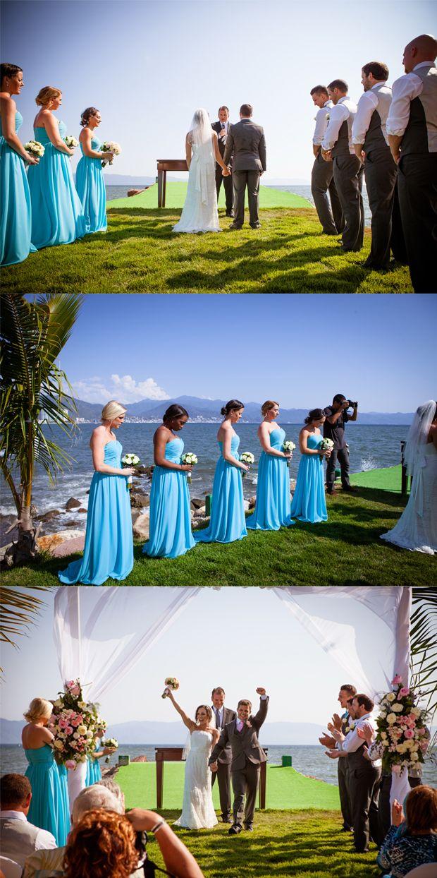 Elegant Summer Beach Wedding: Megan and Joe | http://www.tulleandchantilly.com/blog/elegant-summer-beach-wedding-megan-and-joe/
