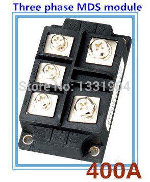 400A three phase Bridge Rectifier Module MDS 400 welding type used for input rectifying power supply and so on