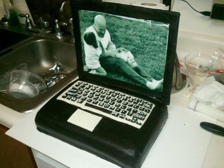 laptop cakeCake Ideas, Awesome Cake, Laptops Cake