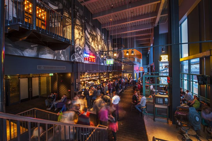 Everyman Cinema, Trinity Leeds lighting design makes use of the PRO-STAR-LED-A-D, ARRAY-MX-LED, 2200k FLEXi-LED tape, AMBi-LED and TRi-PIN-LED #leisure #entertainment #led #lighting