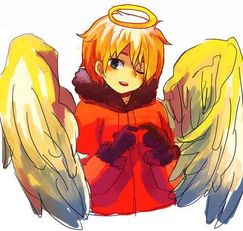 kenny south park anime   Angel Kenny [Anime Style] - Kenny McCormick- South Park Fan Art ...
