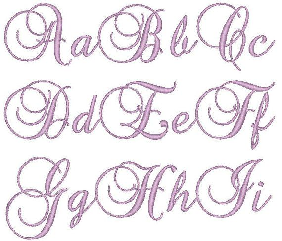 Best embroidery fonts images on pinterest