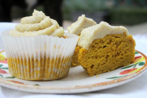 Muffins alla zucca senza glutine e senza uova