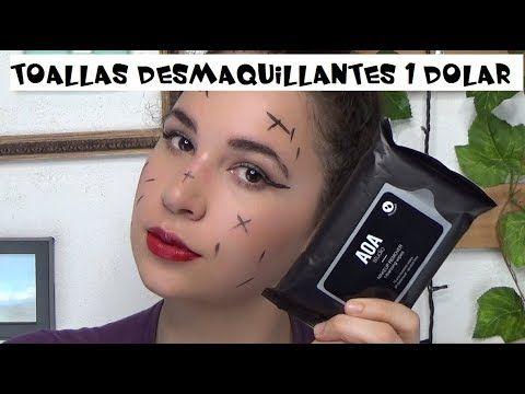 PROBANDO TOALLITAS DESMAQUILLANTES DE 1 DOLAR SIN OLOR - Easywithlu