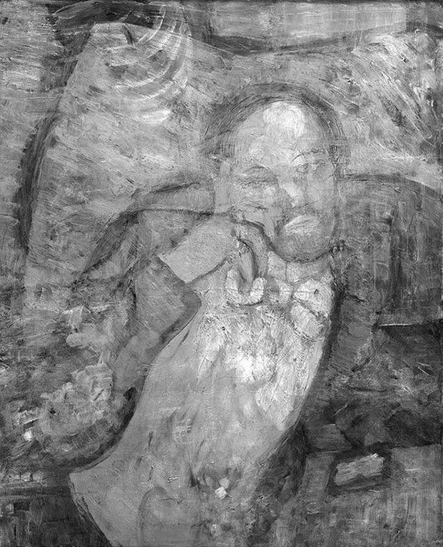 La Stanza Blu di Pablo Picasso: dietro il celebre dipinto si nasconde un uomo barbuto in atteggiamento pensoso