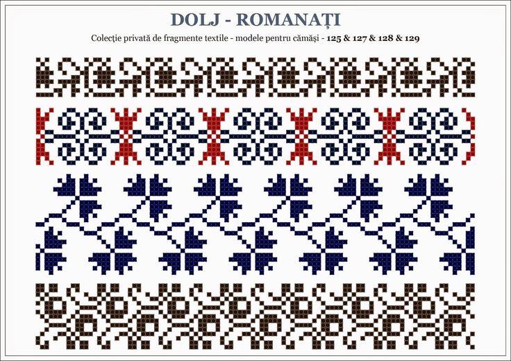 Semne Cusute: traditional Romanian motifs - OLTENIA