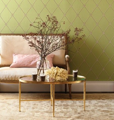 Pink, Green & Gold | Photo Gallery: Colourful Spring Rooms | House & Home | photo Donna Griffith