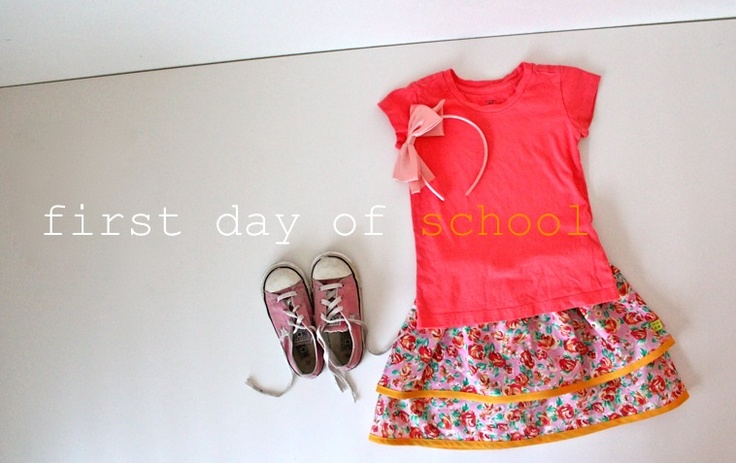First Day of School Skirt | MADE