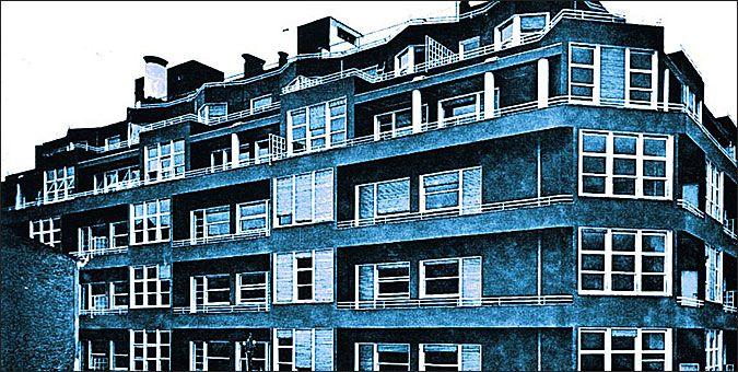 10 αθηναϊκά κτίρια με ενδιαφέρουσες ιστορίες - Η Μπλε Πολυκατοικία