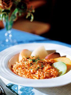 【ELLE a table】かぶと大根の雑穀とろみソースレシピ エル・オンライン