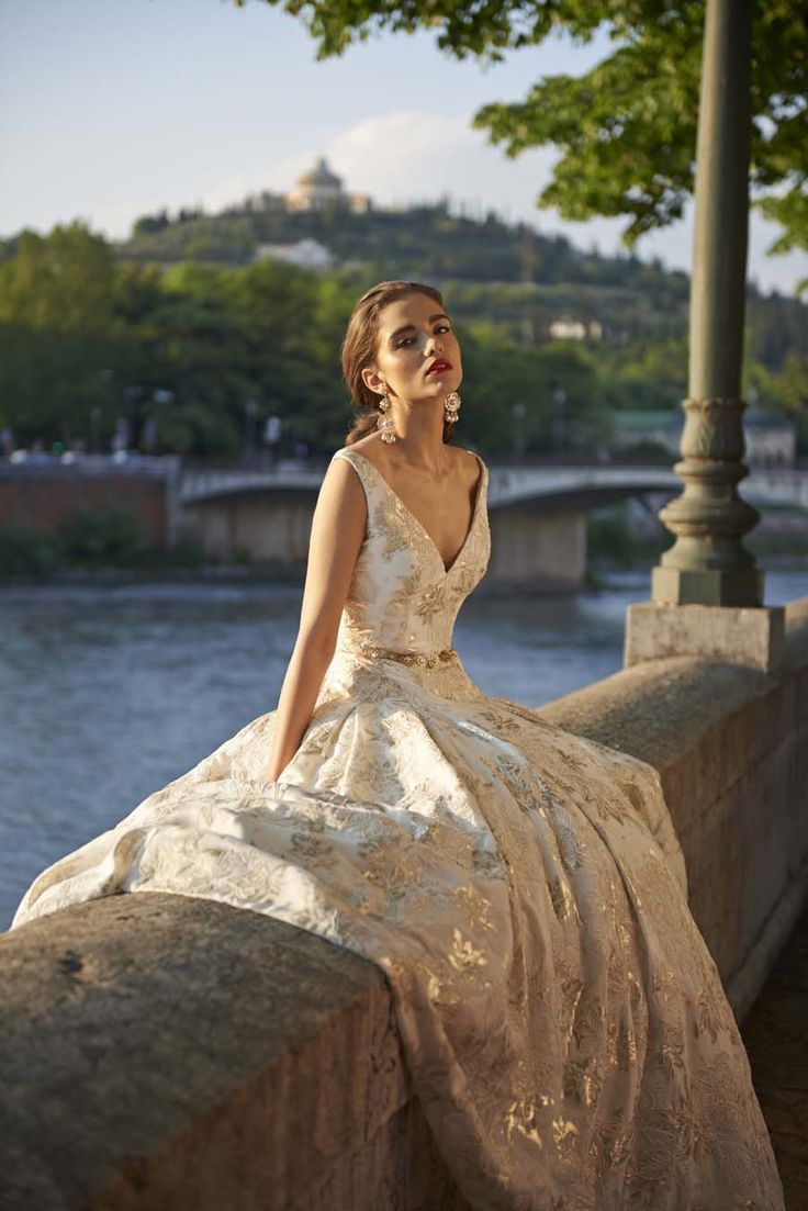 Stephanie Allin Bells Gorgeous 2017 Bridal Gown Collection Bellissimo!