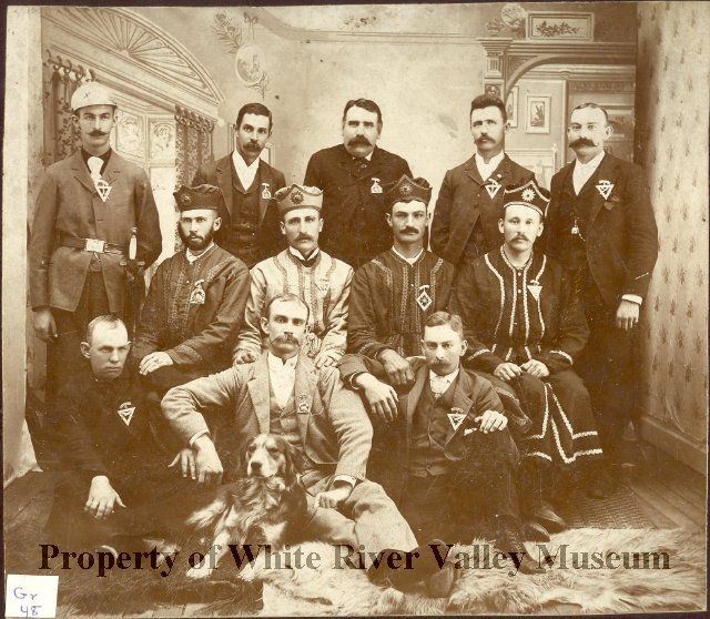 Knights of Pythias circa 1890.
