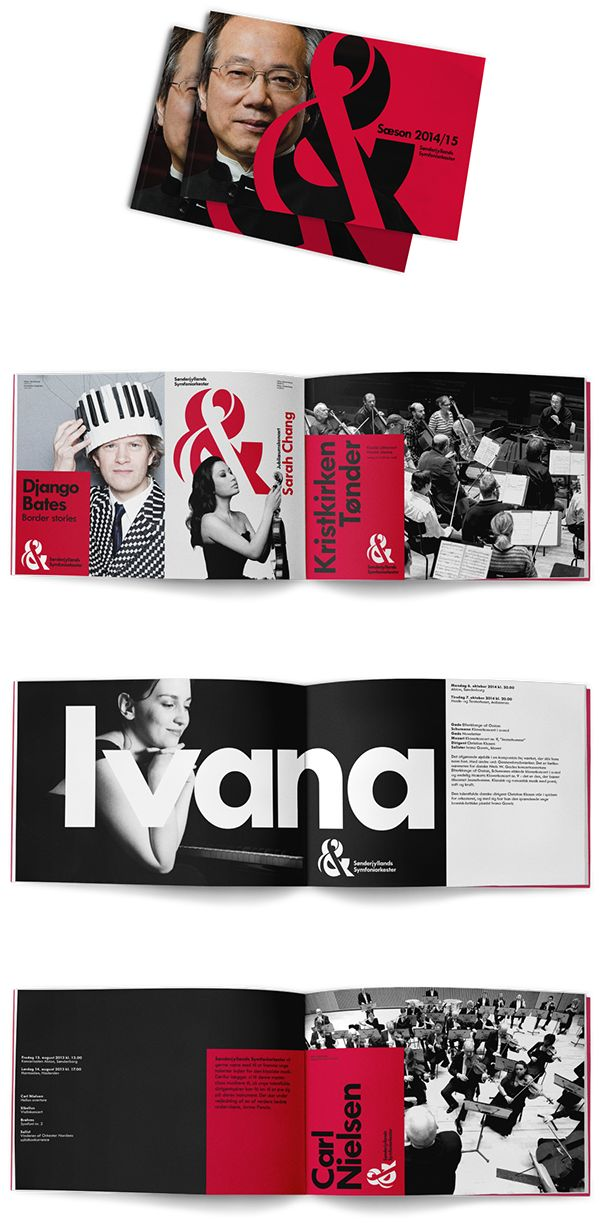 South Denmark Philharmonic Brand Identity by Phong Phan, via Behance