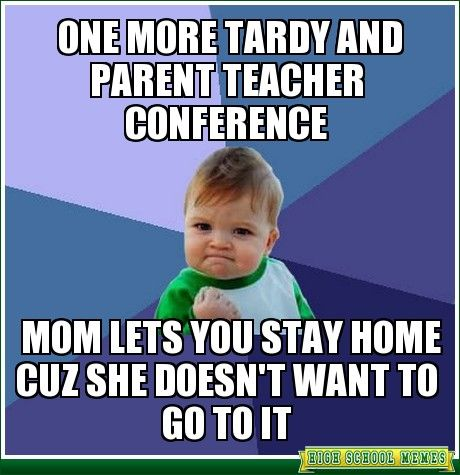 Awkward teacher conference - 2 4