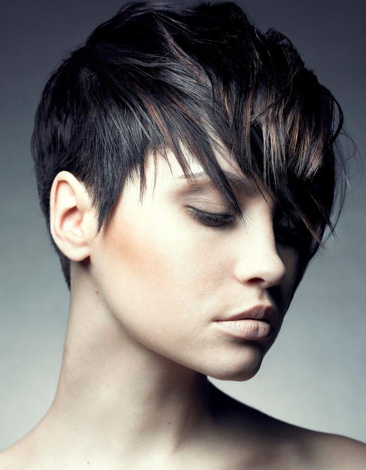 Shaggy Pixie Haircut Short Asymmetrical Shaggy Haircut For Women
