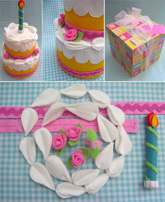 Sara's Toy Box: this is for inspiration only, no pattern. Love the candle!