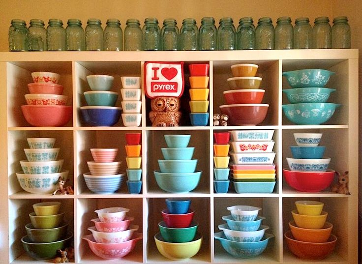 BEST pyrex display ever!