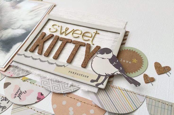 Scrap the Challenge #9: Sweet Kitty