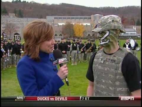 Army Spirit Band On ESPN- On Brave Old Army Team