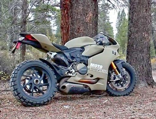 Dreck Ducati 1199 Panigale TerraCorsa - die Duc fürs Grobe von MotoCorsa