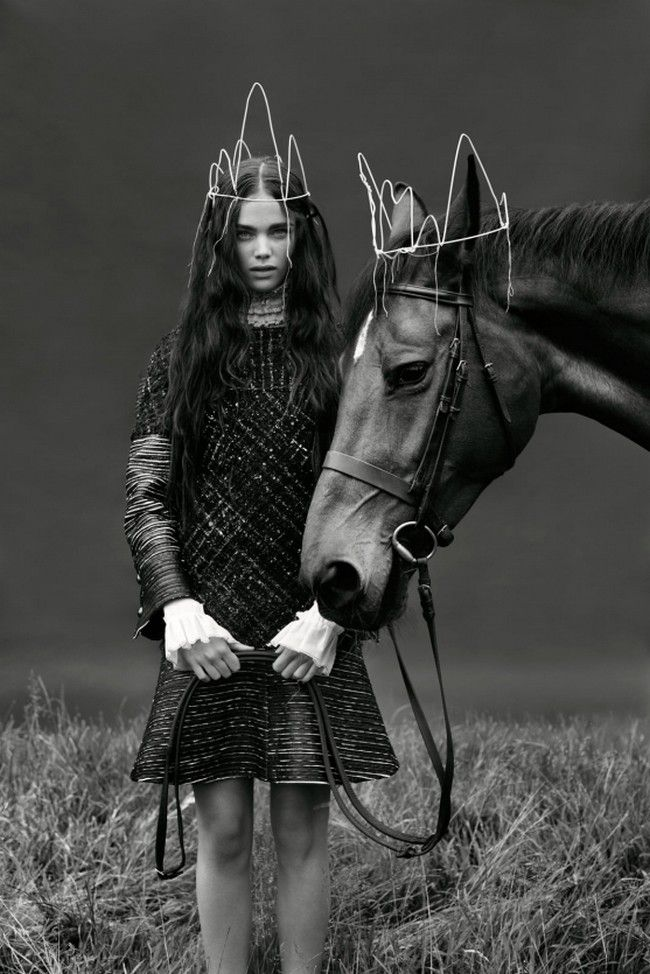 www.pegasebuzz.com | The horse fashion : Sandra Freij for Union Magazine