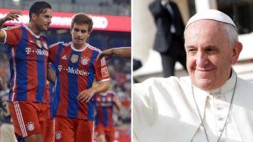 Bayern Múnich enfrenta el próximo miércoles a la Roma (1:45 p.m) por Champions Leage. El Papa recibirá al Bayern con Pizarro. Octubre 15, 2014