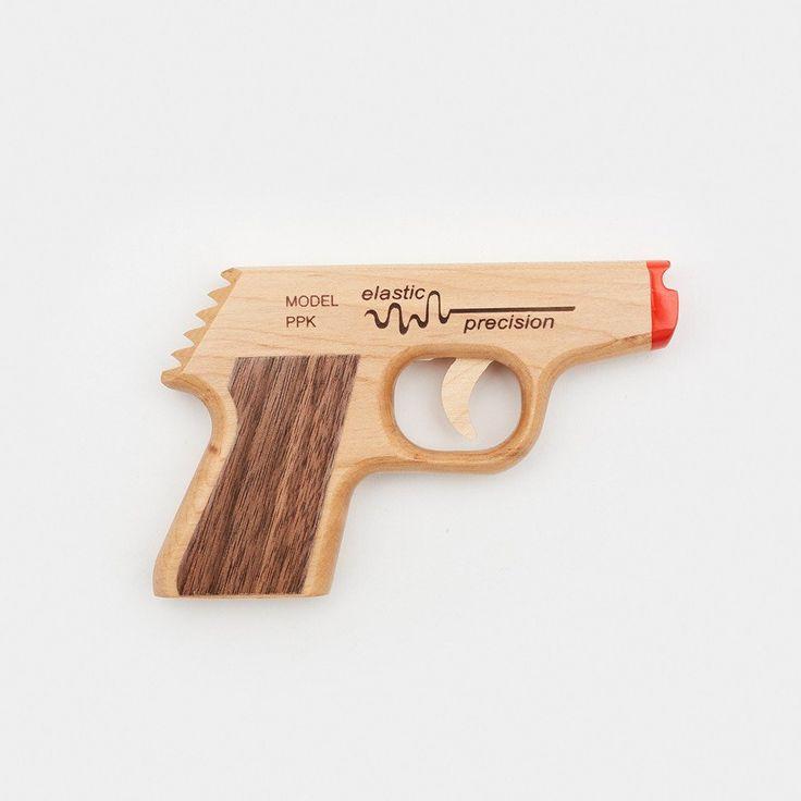 Rubber Band Gun - PPK Rubber Band Gun