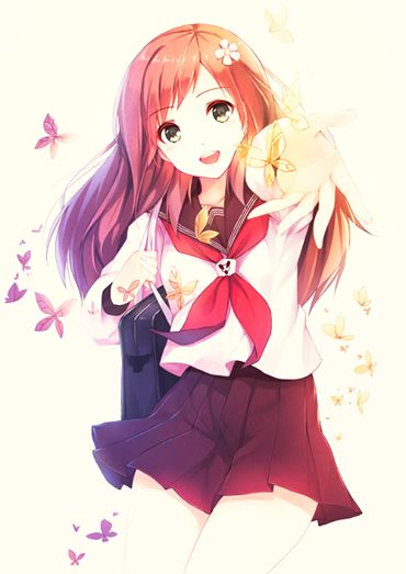 This would DEFINTITLEY be me as an anime girl!!! IM NOT KIDDING THIS IS ACTUALLY KINDA SCARY ACCURATE. XDDDD So, here's me!