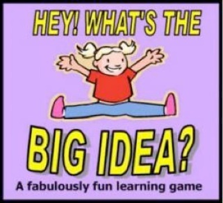 This is a great game that is fun for all ages.  What's more, it helps kids conceptualize and practice main ideas and details.  It's fun for all ages!Mainidea