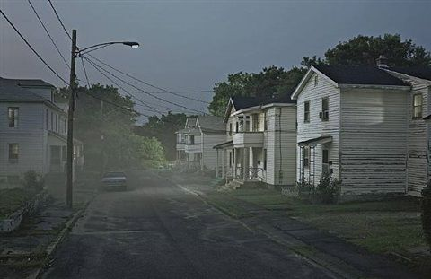 """Untitled (""""Esther Terrace""""? Production still from """"Beneath the Roses"""" (2005?) - Gregory Crewdson"""