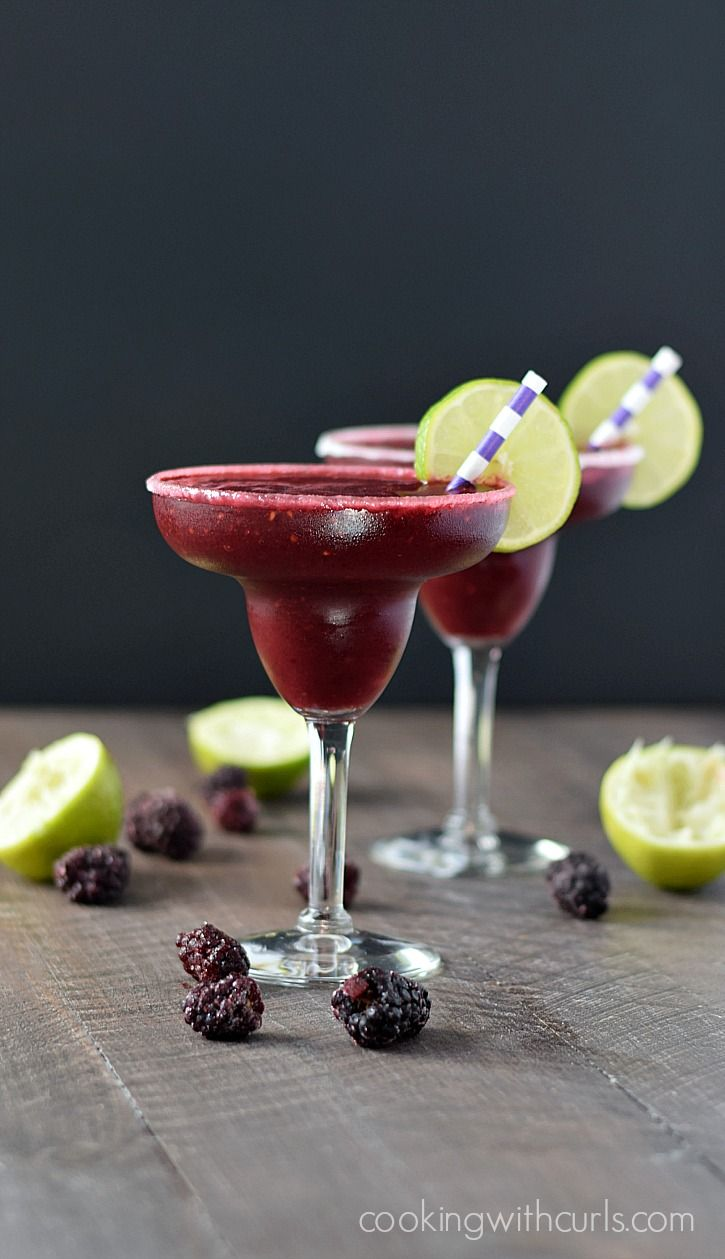 Frozen+Blackberry+Margaritas+|+cookingwithcurls.com