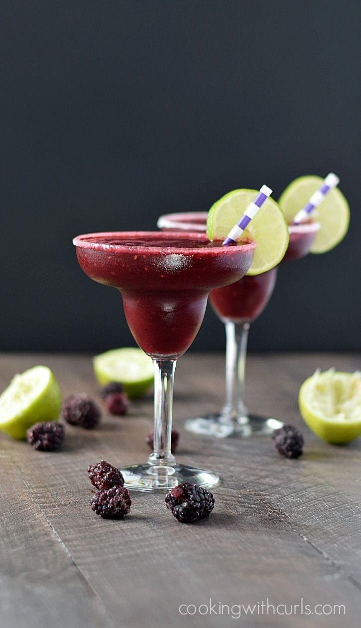 Frozen+Blackberry+Margaritas+|+cookingwithcurls.com