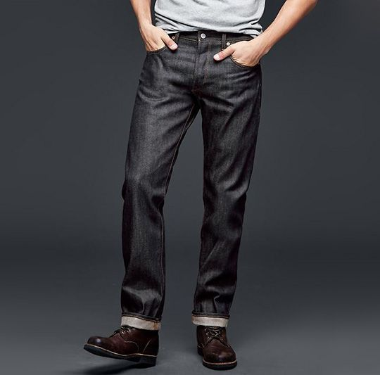 Gap Selvedge - Jeans for Athletic Guys