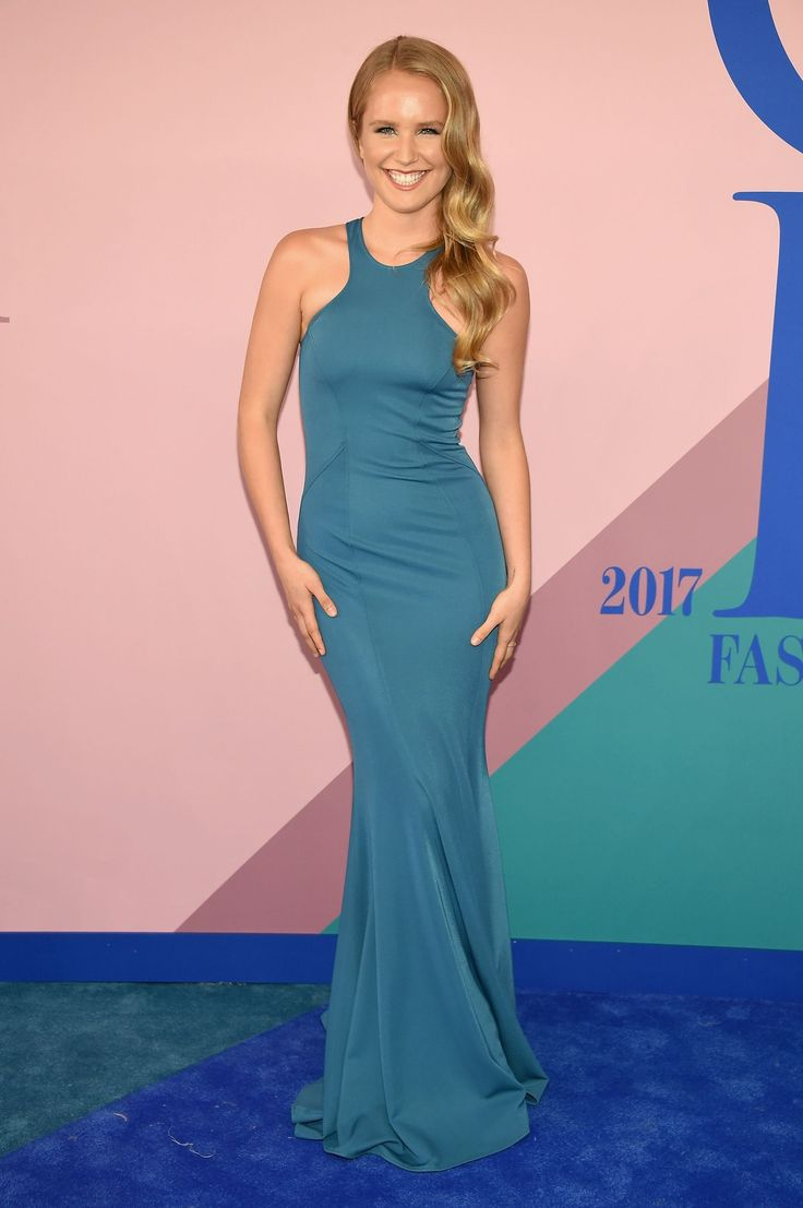 Sailor Lee Brinkley Cook in Zac Posen at the 2017 CFDA Fashion Awards