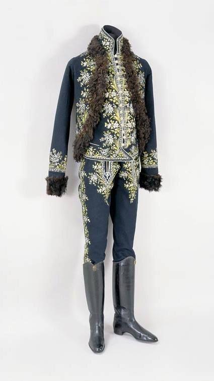 Ungria, traje de caballero. 1770 - 1780