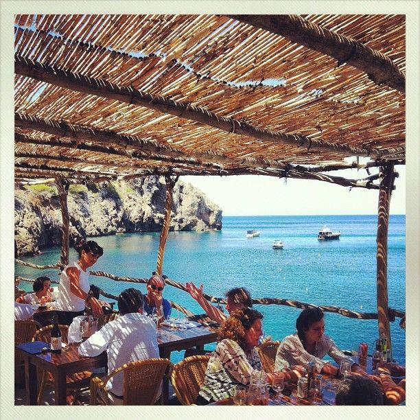 Abendessen am Mittelmeer im Restaurant Cala Deia #Mallorca