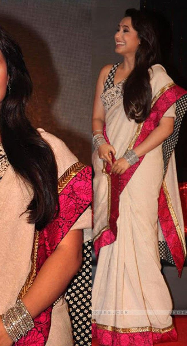 Rani Mukharjee Bollywood Beautiful  Pink Saree