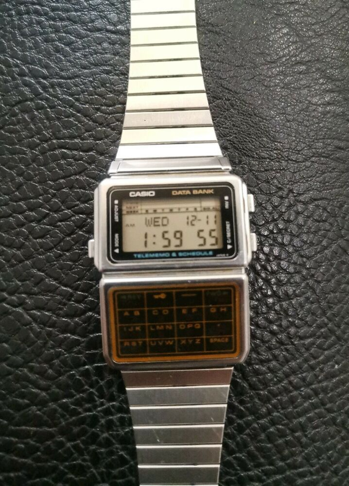 Casio Calculator Watch 80s