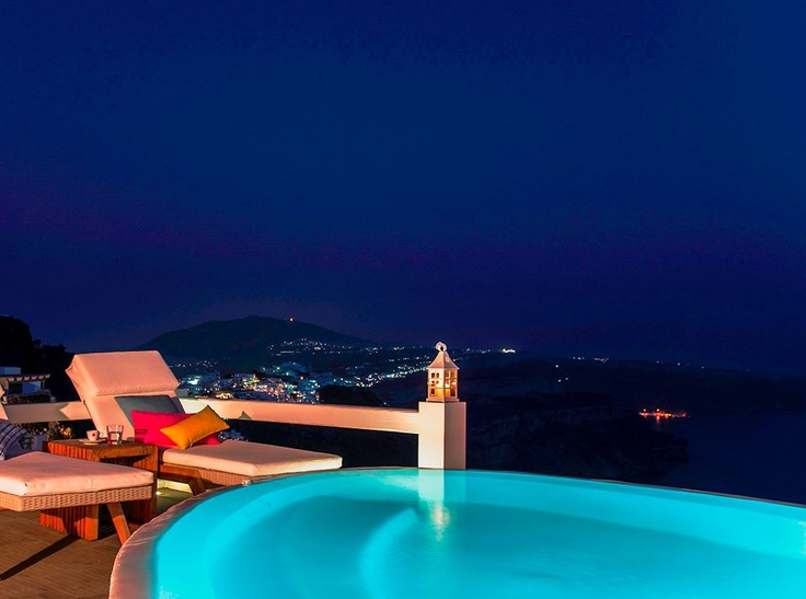 Photo Shooting at Aqua Luxury Suites Santorini