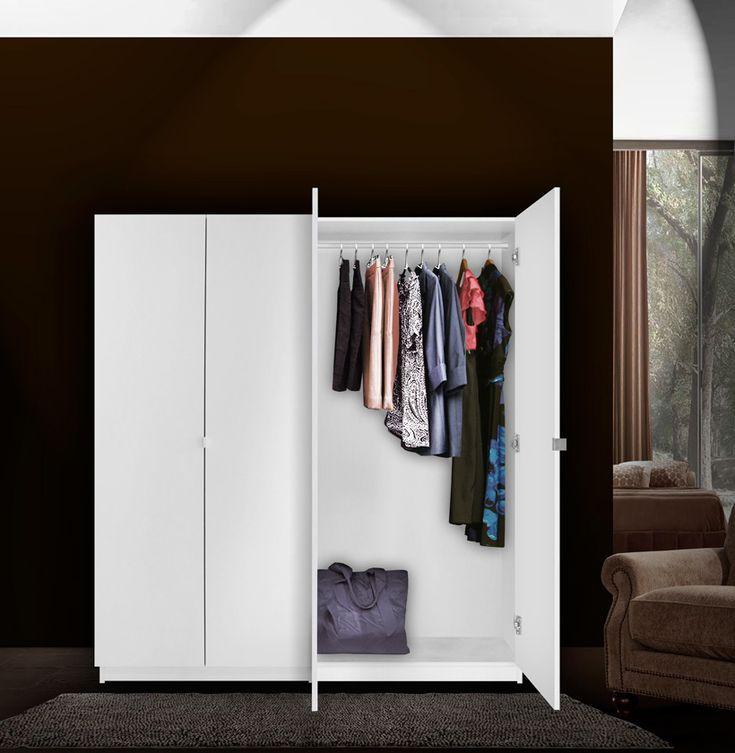 Free Standing Closet With Doors: Dropddesign.com Doors Inspiration