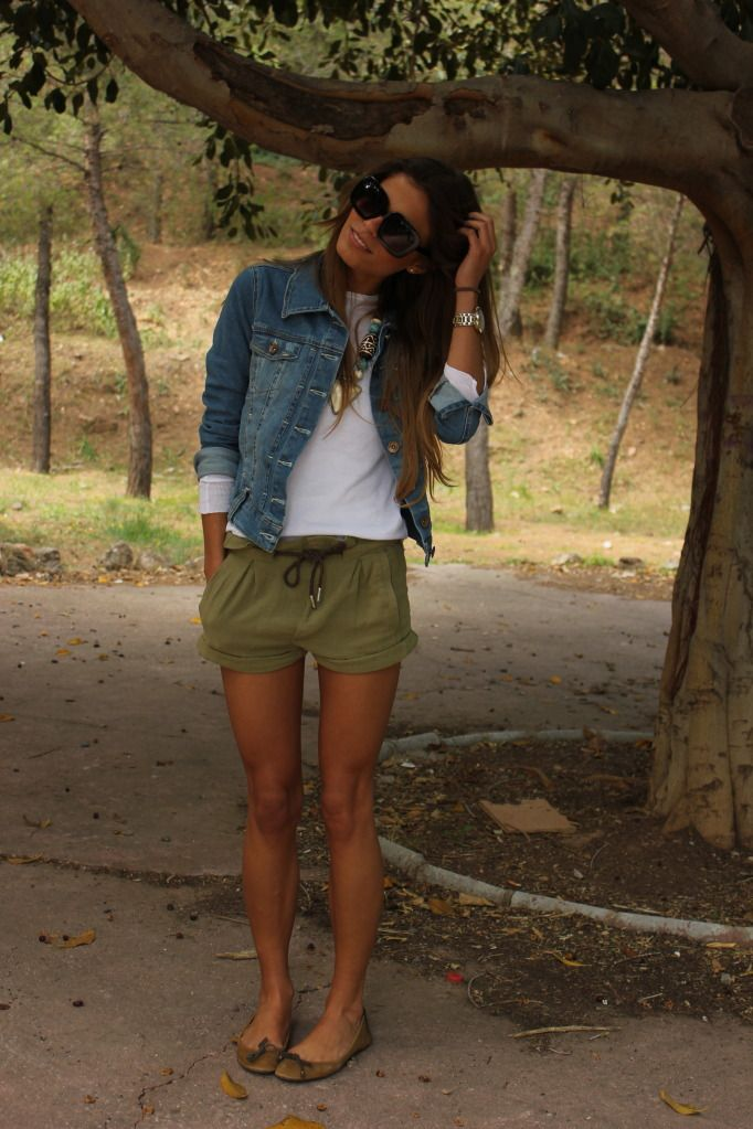 I want this whole outfit and her tan/legs...please and thank you!!