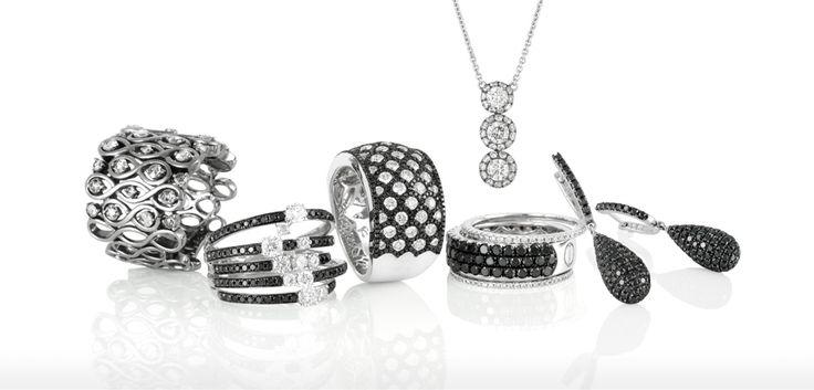 Black diamonds by Jeff Einstein Jewellery Double Bay