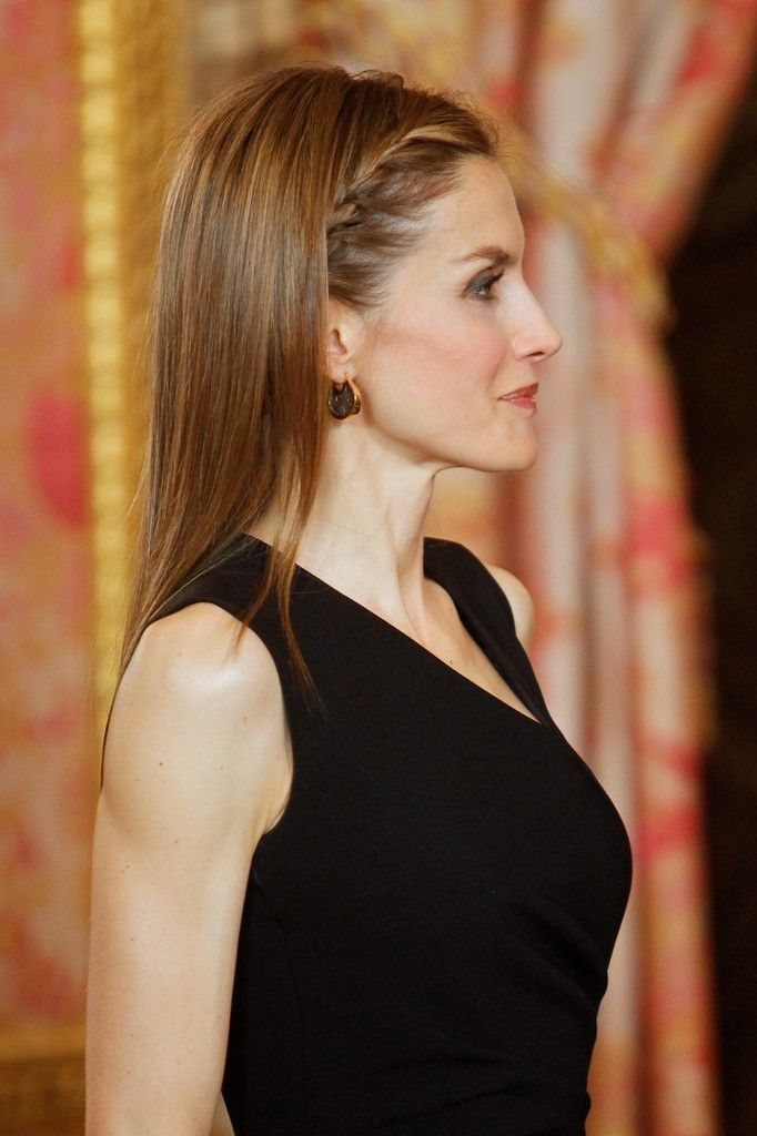 Princess Letizia - Spanish Royals Meet Patrons
