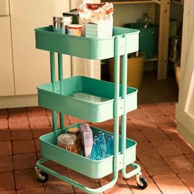 Best Kitchen Cabinet Images On Pinterest Kitchens Dressers And - Kitchen carts on wheels ikea