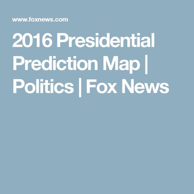 2016 Presidential Prediction Map | Politics | Fox News