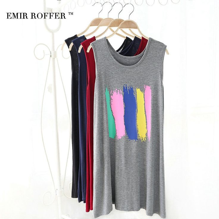 EMIR ROFFER 2017 Fashion Print Short Sundresses Female Summer Mini Casual A Line Loose Everyday Women's Dresses Beach Robe #Affiliate