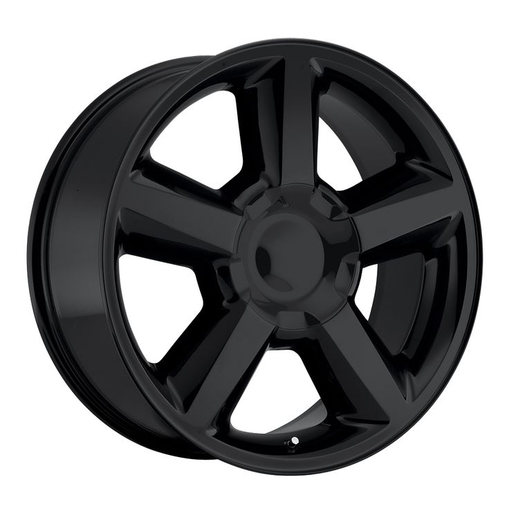 Chevrolet Tahoe 2007-2012 20x8.5 6x5.5 30 - Replica Wheel - Gloss Black With Cap